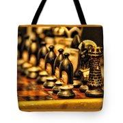 Homemade Chess Tote Bag