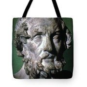 Homer (9th-8th Century B.c.) Tote Bag by Granger