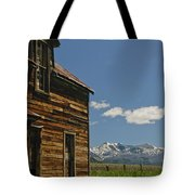 Homestead View Of The Crazy's Tote Bag