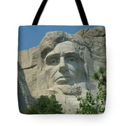 Honest Abe In Stone Tote Bag