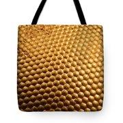 Honey Bee Eye Tote Bag