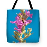 Honey Bees On Sage 1 Tote Bag