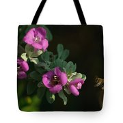 Honey Bees On Sage 2 Tote Bag