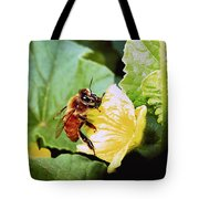 Honeybee And Cantalope Tote Bag