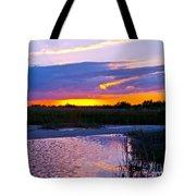 Honeymoon Island Sunset Tote Bag