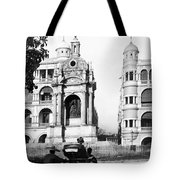 Hong Kong - Monument To Queen Victoria - C 1906 Tote Bag