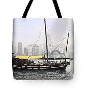 Hong Kong Junk Tote Bag