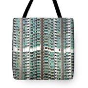 Hong Kong Residential Building Tote Bag