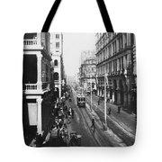 Hong Kong Vintage Street Scene - C 1913 Tote Bag