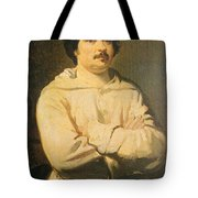 Honore De Balkzac, French Author Tote Bag