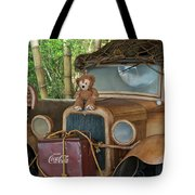 Hood Ornament Disney Bear Tote Bag