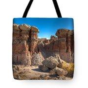 Hoodoos At Gooseberry Desert Wyoming Tote Bag