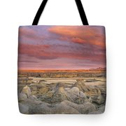 Hoodoos, Milk River Badlands, Writing Tote Bag