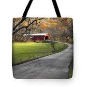 Hoosier Autumn - D007843a Tote Bag
