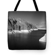 Hoover Dam Reservoir - Architecture On A Grand Scale Tote Bag