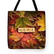 Hope-autumn Tote Bag
