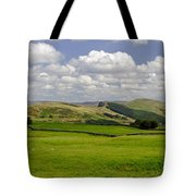 Hope Valley From Winnats Head Tote Bag