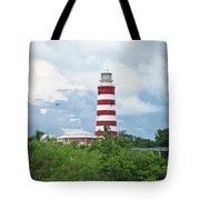 Hopetown Lighthouse Tote Bag