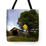 Hopkins Covered Bridge Tote Bag