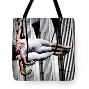 Horizontal Bow Tote Bag