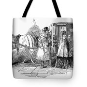 Horse Carriage, 1847 Tote Bag
