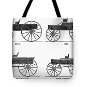 Horse Carriages, 1810-1860 Tote Bag