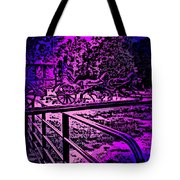 Horse Drawn Carriage In The Snow Tote Bag