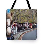 Horse-drawn Carriages Tote Bag