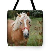 Horse Friend Birthday Tote Bag