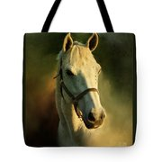 Horse Head Portriat Tote Bag