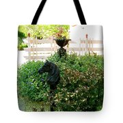 Horse Hitching Post 2 Tote Bag
