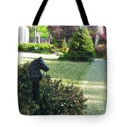 Horse Hitching Post 3 Tote Bag