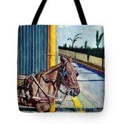 Horse In Malate Tote Bag