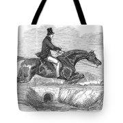 Horse-jumping, 1852 Tote Bag