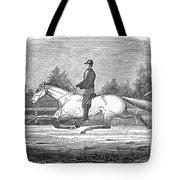 Horse Racing, 1851 Tote Bag