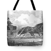 Horse Racing, 1862 Tote Bag