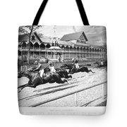 Horse Racing, 1889 Tote Bag