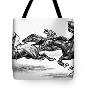 Horse Racing, 1900 Tote Bag