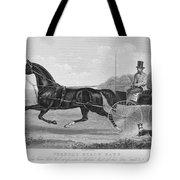 Horse Racing, C1850 Tote Bag