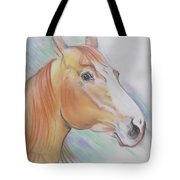 Horse Spooked Tote Bag