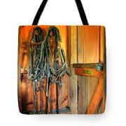 Horse Tack Tote Bag