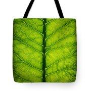 Horseradish Leaf Tote Bag