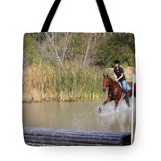 Horses Dont Like Water Tote Bag