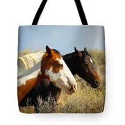 Horses In The Wild Tote Bag