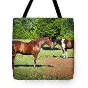 Horses Of A Different Color Tote Bag