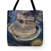 Horseshoe Bend View Tote Bag