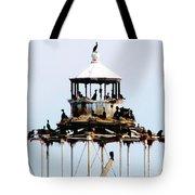 Horseshoe Reef Lighthouse Tote Bag