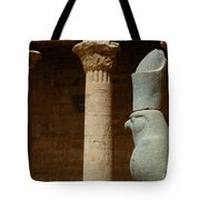 Horus Temple Of Edfu Egypt Tote Bag