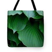 Hosta Green Tote Bag