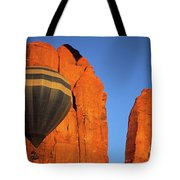 Hot Air Balloon Monument Valley 1 Tote Bag